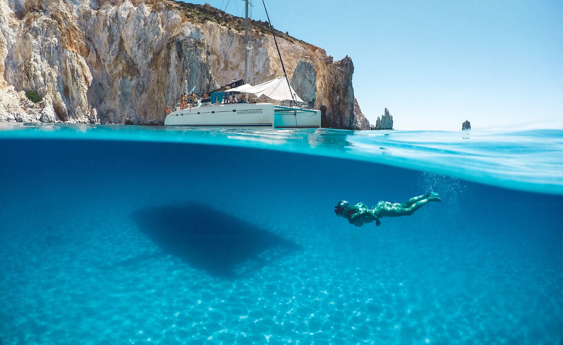 greek islands with lacey stone modern adventure