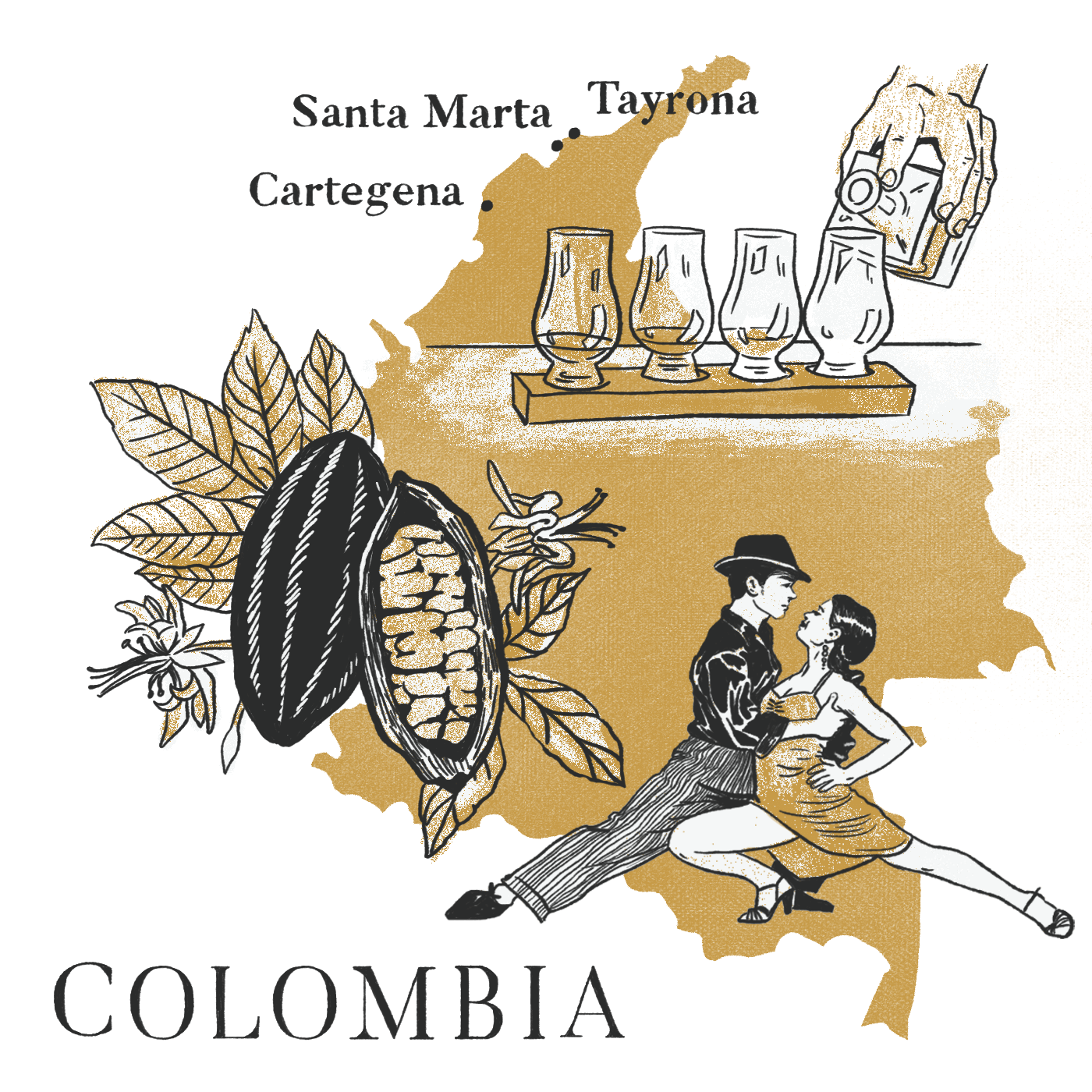Colombia With Dandelion Chocolate & Traci Des Jardins